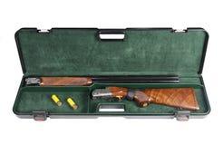 Hunting gun in case Stock Image