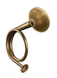 Hunting horn Stock Image