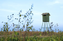 Hunting hut Stock Photography