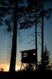 Hunting hut Stock Image