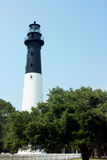 Hunting Island Lighthouse Stock Photo