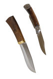 The hunting knife Stock Image