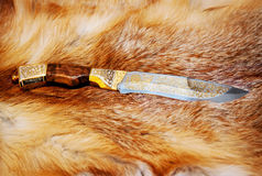 Hunting knife Royalty Free Stock Image