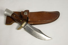 Hunting knife Stock Image