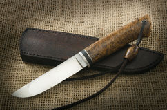 Hunting knife Stock Photos