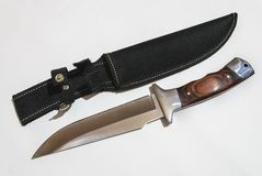 Hunting knife Royalty Free Stock Photo