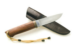 Hunting knife Royalty Free Stock Photography