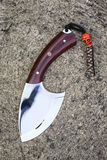 Hunting knife Stock Images