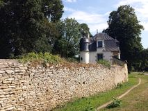 Hunting lodge , Hennebont,Brittany Royalty Free Stock Images