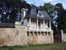 Hunting lodge , Hennebont,Brittany Stock Image