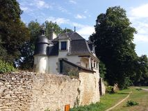 Hunting lodge , Hennebont,Brittany Royalty Free Stock Photo