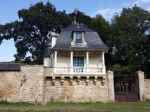 Hunting lodge , Hennebont,Brittany Stock Photos