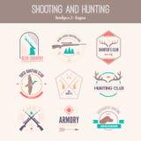 Hunting Logos Royalty Free Stock Image