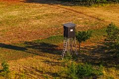 Hunting lookout Stock Photo