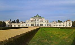 Hunting Palace of Stupinigi. Located in Nichelino countryside of Turin. It was the Residences of the Royal House of Savoy Royalty Free Stock Image
