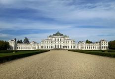 Hunting Palace of Stupinigi. Located in Nichelino countryside of Turin. It was the Residences of the Royal House of Savoy Stock Images