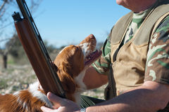 Hunting partners Stock Images