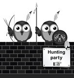 Hunting party Stock Photography