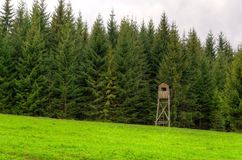 Hunting pulpit. Royalty Free Stock Photography