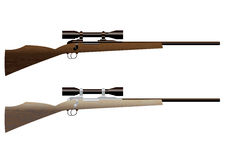 Free Hunting Rifle Royalty Free Stock Photo - 12823875