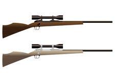 Hunting rifle royalty free illustration