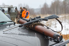 Free Hunting Rifle Royalty Free Stock Photography - 27911207
