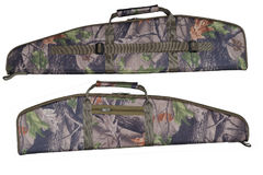 Hunting rifle case, two views Stock Photography