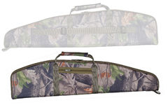 Hunting rifle case, two views. Hunting rifle case, two sides, isolated Royalty Free Stock Images