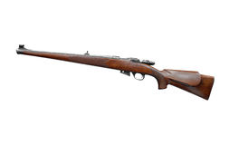 Hunting rifle isolated Stock Photography