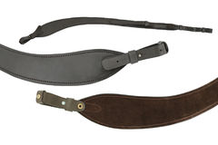 Hunting rifle sling, three views of one item Stock Photography