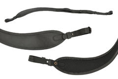 Hunting rifle sling , three views of one item Stock Images