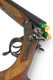 Hunting rifle on a white. Background Royalty Free Stock Photography