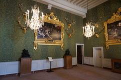 Hunting Room at the Chambord Castle Royalty Free Stock Photography