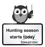Hunting season Royalty Free Stock Photography