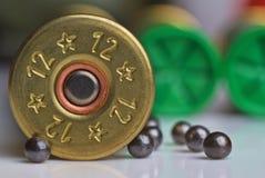 Hunting shot cartridge Royalty Free Stock Photography