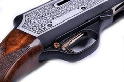 Hunting shotgun detail Stock Photo
