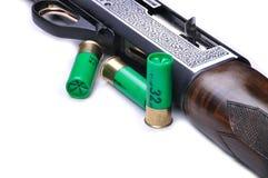 Hunting shotgun detail Stock Photos