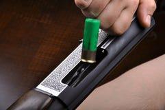 Hunting shotgun detail Stock Images