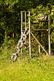 Hunting stand Stock Images