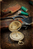 Hunting Still Life Royalty Free Stock Photos