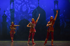 """Hunting team- ballet """"One Thousand and One Nights"""" Stock Photos"""