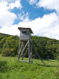 Hunting tower Royalty Free Stock Photos