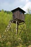 Hunting tower Royalty Free Stock Image