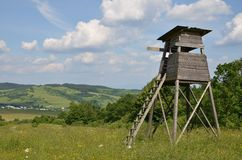 Hunting tower Stock Photography