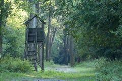 Hunting tower Stock Photos
