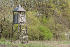 Hunting tower Stock Images