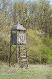 Hunting tower Royalty Free Stock Photography