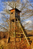 Hunting tower Stock Photos