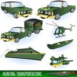 Hunting transportation Stock Images