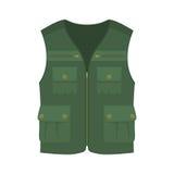 Hunting vest icon. Hunting vest. Cartoon vector illustration. Vest for hanter or fisher Stock Photo